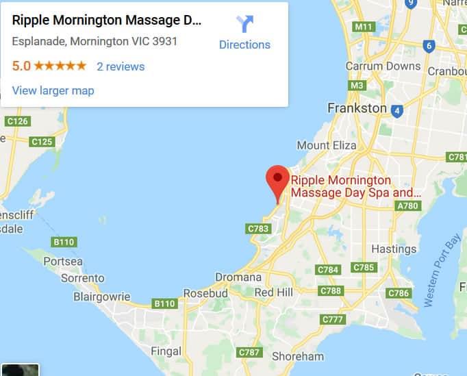 Ripple Mornington Peninsula Massage Day Spa And Beauty Google My Business Map