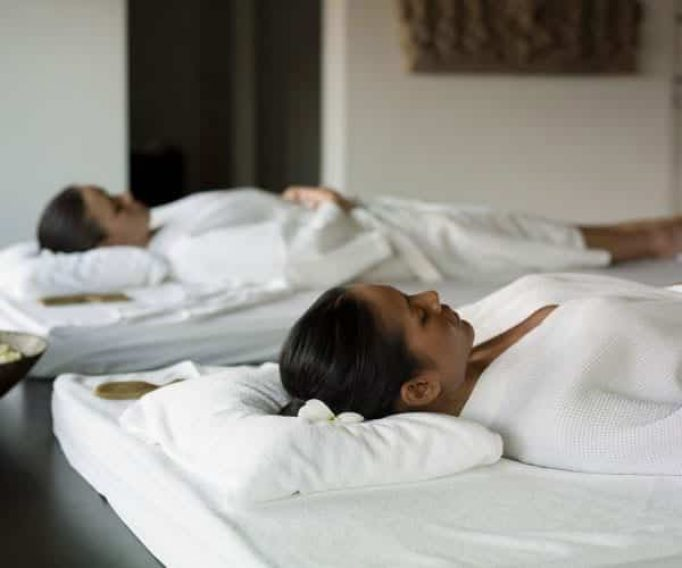 In Home Girls Weekend Massages with two therapists