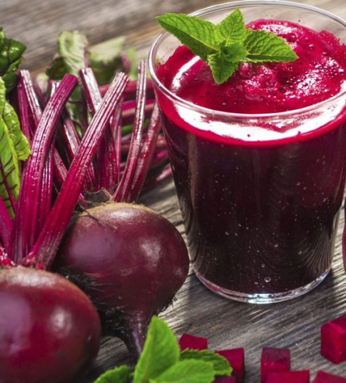 Beetroots and beetroot juice