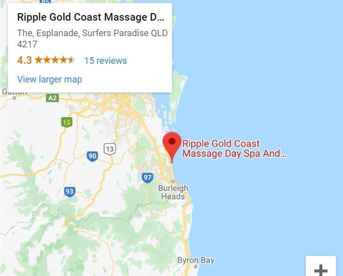 Ripple Gold Coast Massage Day Spa And Beauty Google My Business Map
